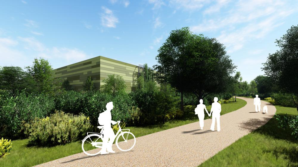 Proposed development image of Science Park from Wasdell Group